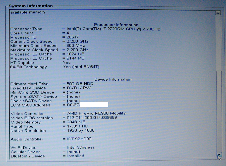 Dell Precision M6600 How To Enter Bios - Dell Photos and Images 2018